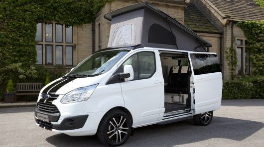 Versatile Camping Vans - The Ford Terrier Bianco Offers Performance and Comfort (GALLERY)