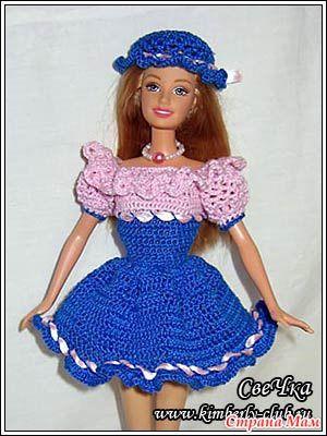 Весенние платья - Меган - Гардероб для куклы - Страна Мам