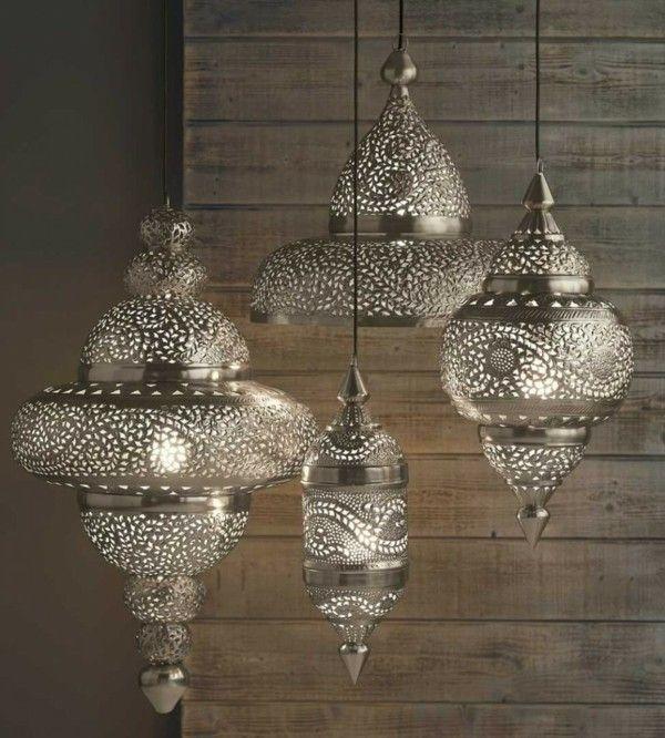 Marokanische Lampe Bringt Einen Orientalischen Hauch In Den Raum