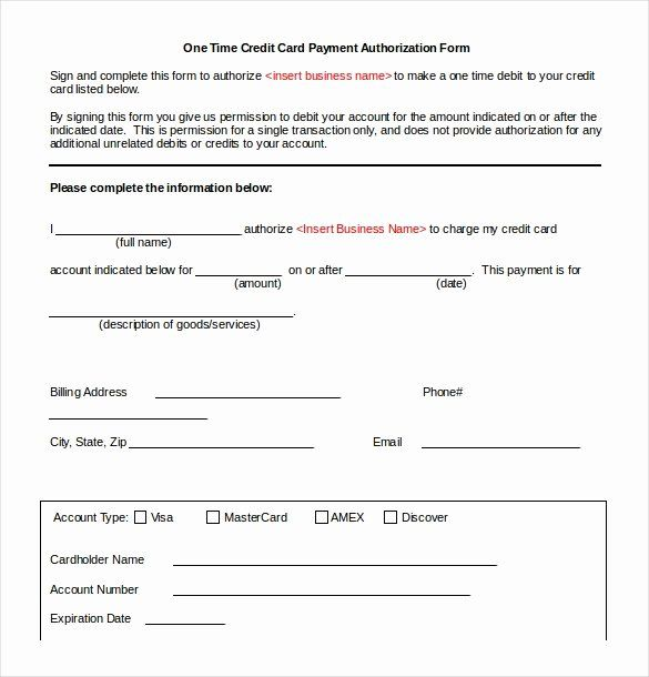 Credit Card Authorization Form Word Best Of Credit Card Authorization Form 9 Download Free Credit Card Business Budget Template Words