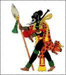EK-CHUAH  Era el Dios Maya de la Guerra.