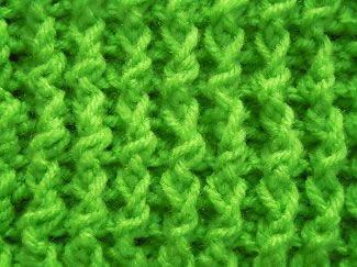single rib crochet stitch; crochet pattern