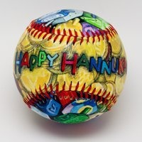 Special Occasion Baseballs by Child to Cherish (Hannukah)  $14.99 Sold At Baby Family Gifts Amazon