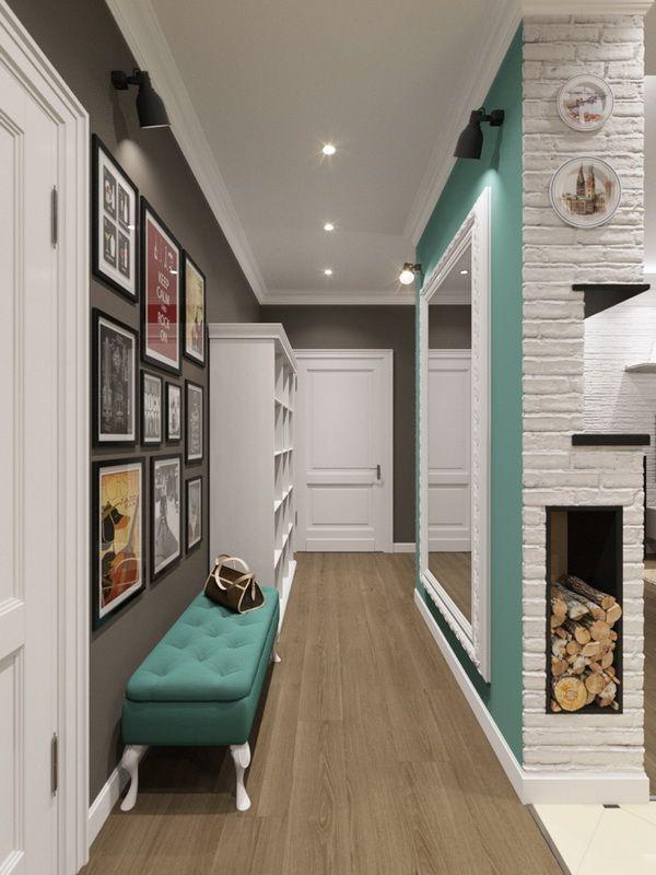 Дизайн трехкомнатной квартиры, 95м2