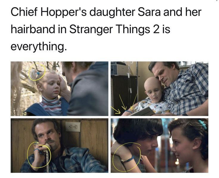 I love hopper and el's father-daughter relationship