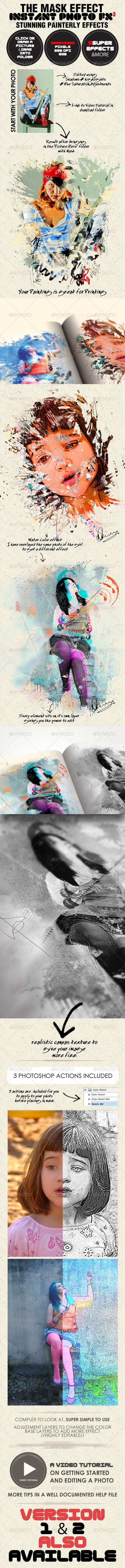 Photo-Fx-Auto Mask#3 - Stunning Photo Effects - GraphicRiver Item for Sale