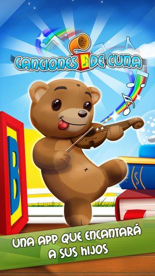 iPhone Screenshot 5. A mis peques les encanta. Cortas, animadas y coloridas!! se encuentran en itunes. super para los que aprenden español y para los que saben las pueden cantar y bailar.