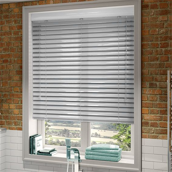 Synergy Chrome Venetian Blind - 50mm Slat from Blinds 2go