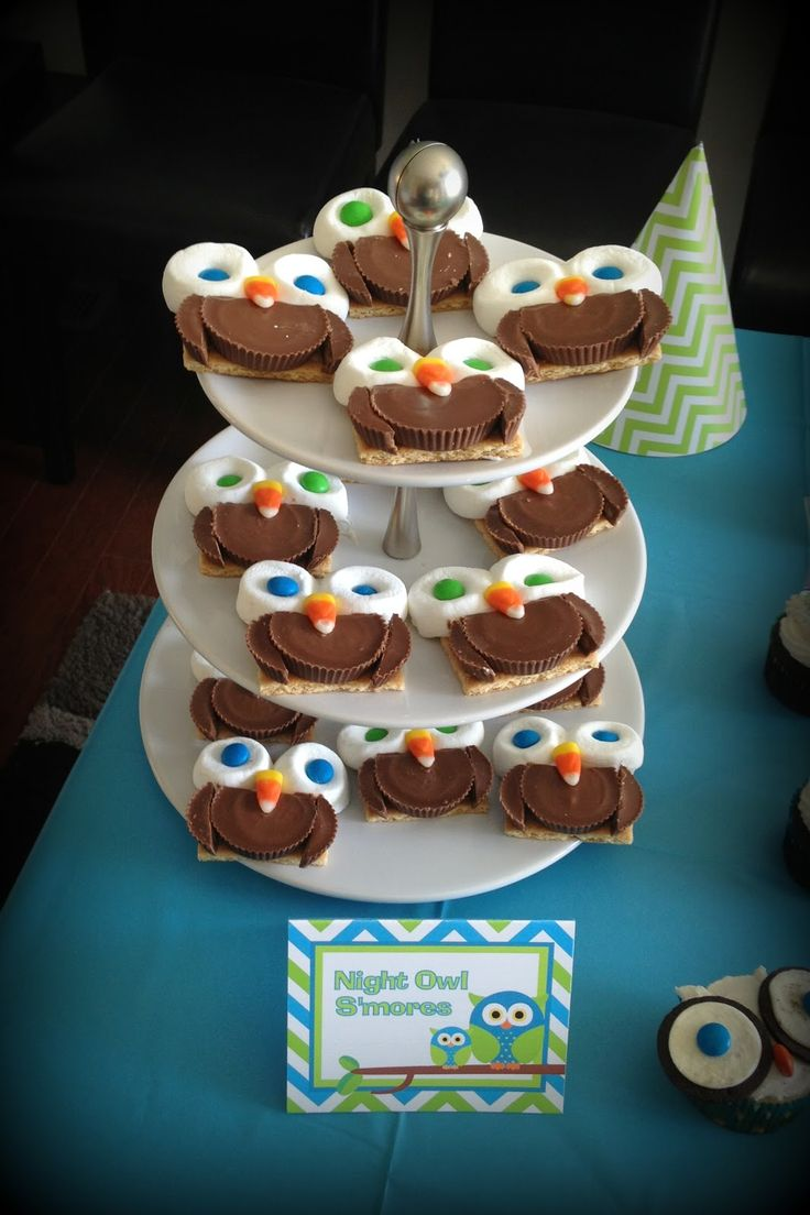 Great ideas for an owl birthday party owls pinterest owl cakes
