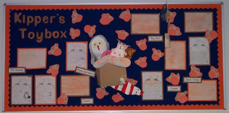 Kipper's toybox display