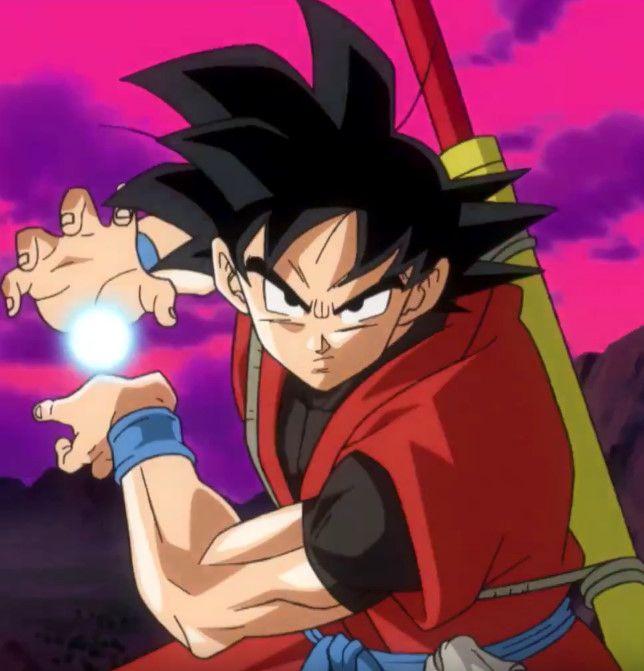 Dragon Ball Heroes: Xeno Son Goku! by sonichedgehog2