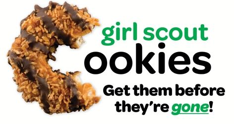 Get them while you can: final weekend for local Girl Scout cookie ...