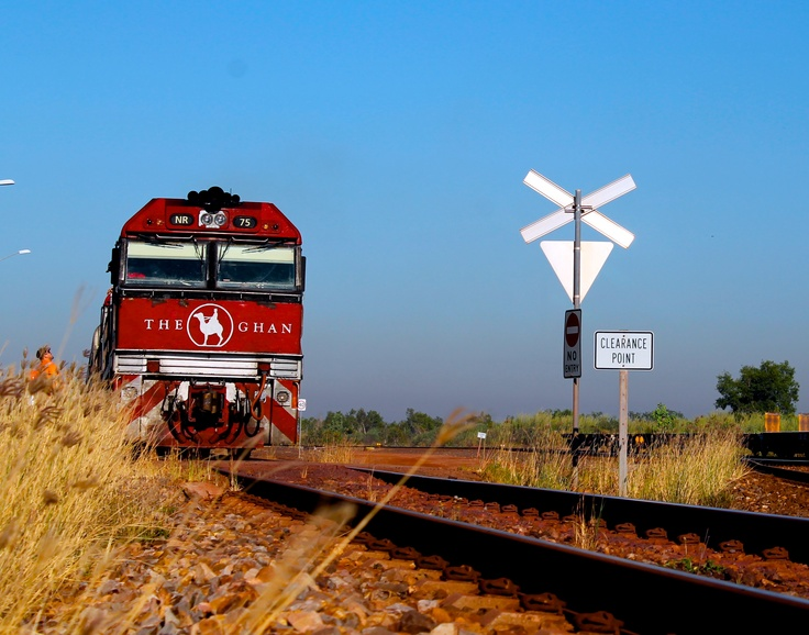 The Ghan getting ready to roll again!