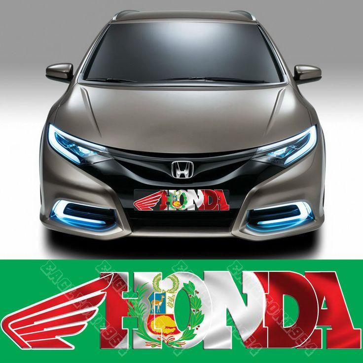 Peru Racing Flag Decal Peruvian Flag Decal Sticker PE - Honda civic decal stickers