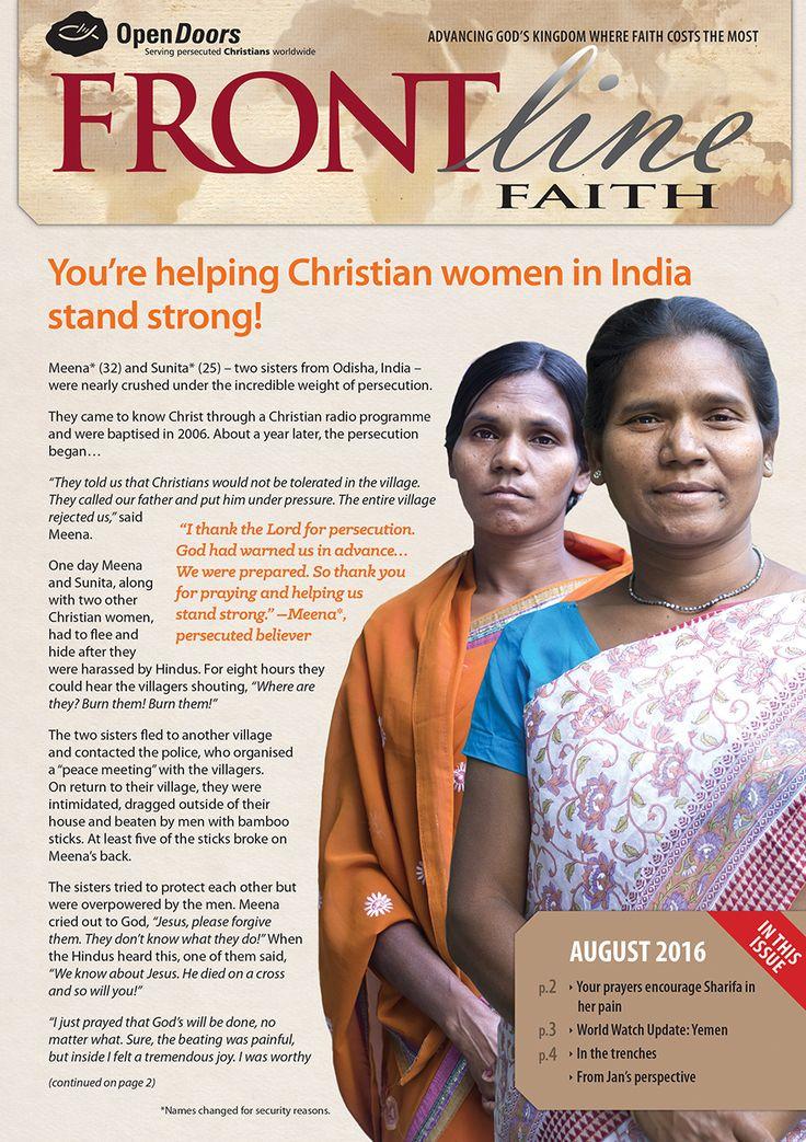 Frontline Faith Monthly Magazine