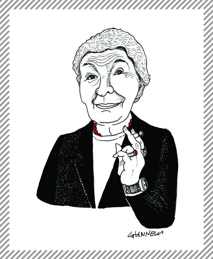 Gaetana Aulenti, architetto e designer, Divenne famosa a livello internazionale per le ristrutturazione della Gare e del Museo d'Orsay a Parigi. A Milano progettò l'intervento di ristrutturazione di piazzale Cadorna. #albumMilano #GaeAulenti