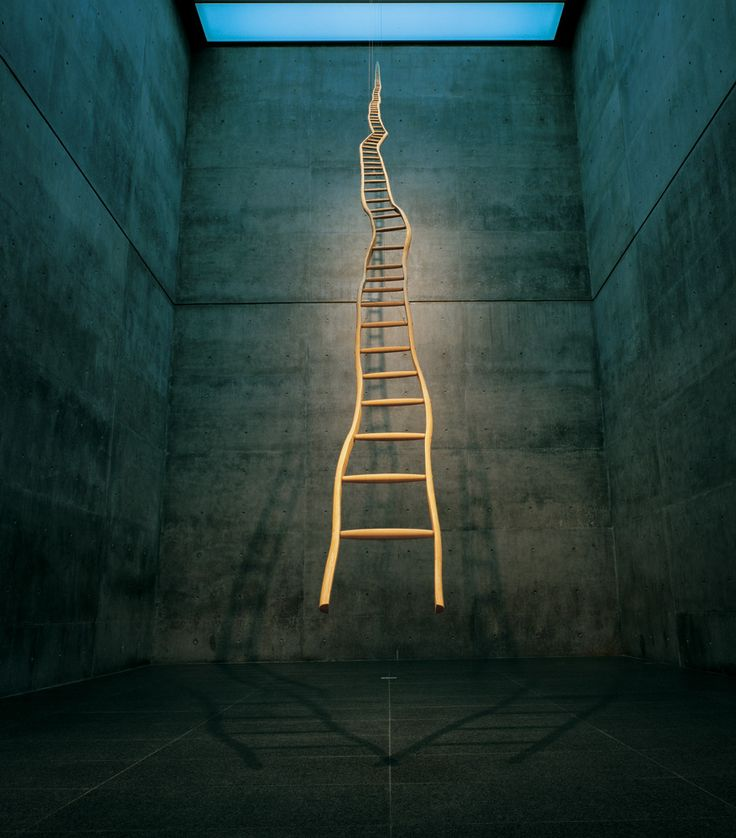 Ladder for Booker T. Washington. Martin Puryear. (Source: Picturing America) - Thx Paulo