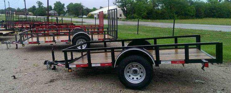 New 2015 Other 77x12 Tilt Trailer ATVs For Sale in Kansas.
