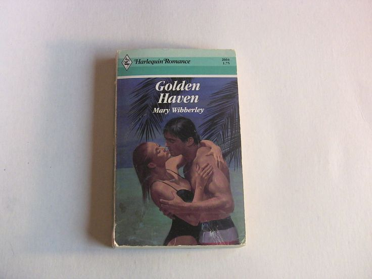 Vintage Harlequin Romance Book #2664 Golden Haven Mary Wibberley 1984 1st Edition