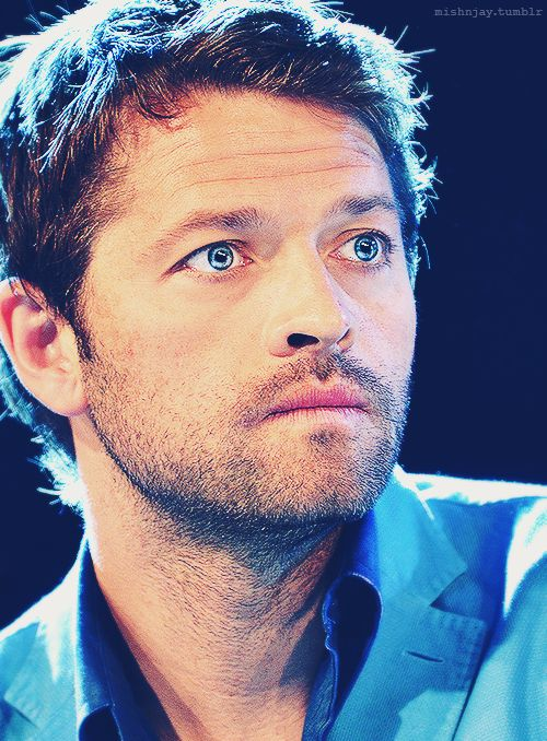 """""""100% guarantee that Misha Collins is prettier than you. << Ummm, yeah he is. With his eyes alone"""" Yes. 250% prettier than me if not more."""
