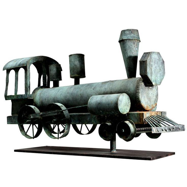 Locomotive Weather Vane |  Anonymous