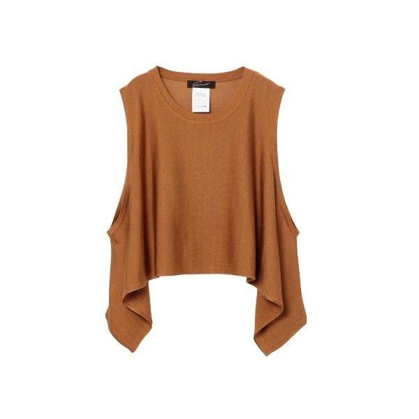 ショートフレアータンク|STUNNING LURE|STUNNING LURE online shop (3.670 RUB) ❤ liked on Polyvore featuring tops and shirts