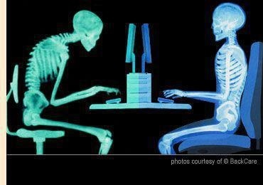 A picture says a thousand words... what posture do you think is less prone musculoskeletal injuries?