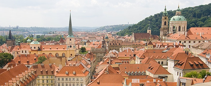 Old European cities rock! This one is from Prague. I love Vienna as well =)