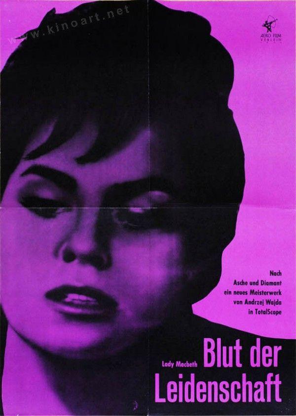 Siberian Lady Macbeth (Andrzej Wajda, 1962) German design