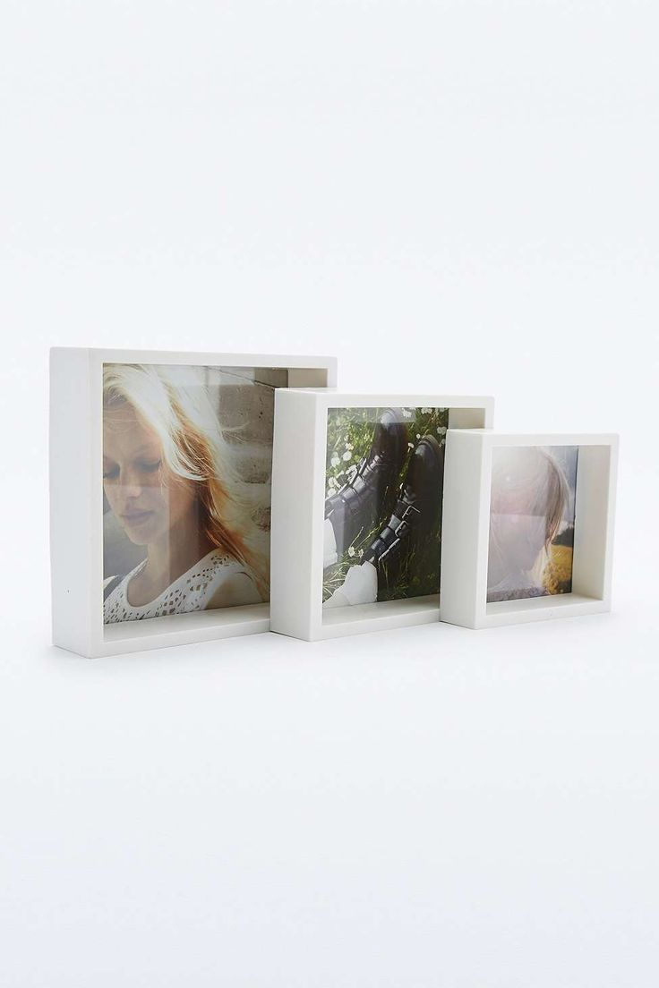 White Picture Frame Trio