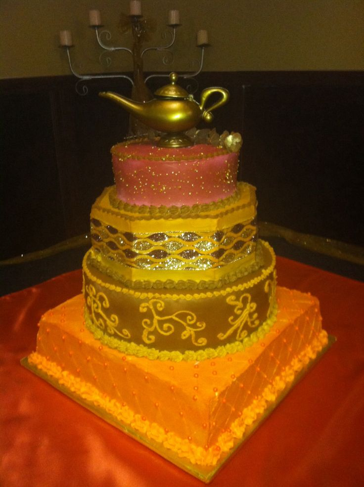 26 best images about arabian night cakes on pinterest for Arabian cake decoration