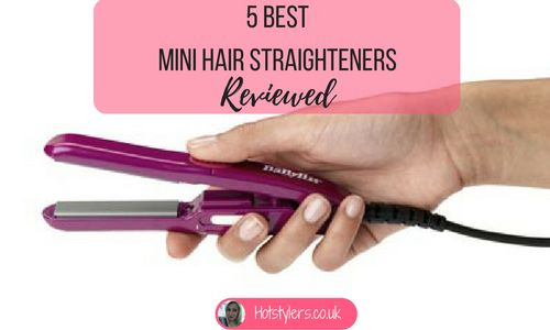 We've investigated five different mini hair straighteners to come up with our ultimate must-haves!