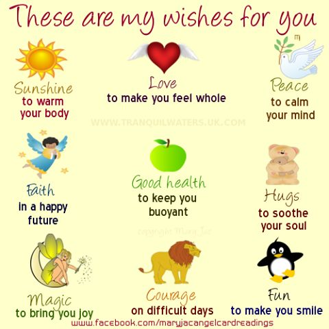 #positiveaffimations My wishes for you
