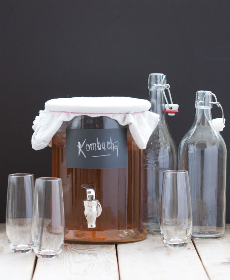 How to Make Continuous Brew Kombucha // 80twenty