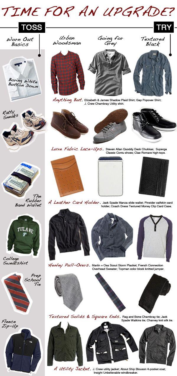Dud to Stud: Wardrobe Ideas for Guys   Style   Washingtonian