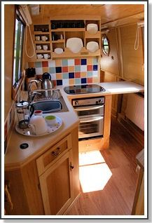 Fold down hatch for extra space when cooking! Brilliant...