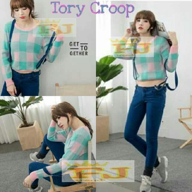 Sweater rajut TORY CROP, harga 32k www.ramailancar.com www.facebook.com/tokobajurajutmurah 0857 2212 6318