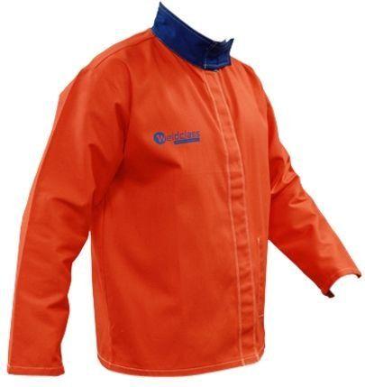 Taipan Abrasives WC-05264  Weldclass Promax FR5 Hi Vis Welding Jacket, Orange, 2XL. For product info go to:  https://www.caraccessoriesonlinemarket.com/taipan-abrasives-wc-05264-weldclass-promax-fr5-hi-vis-welding-jacket-orange-2xl/