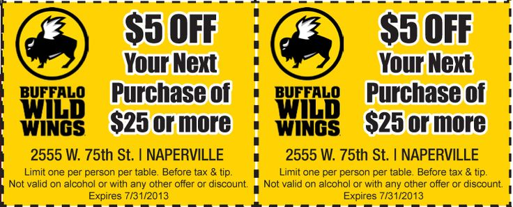 Wings to go coupon code
