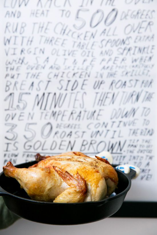 Picture-Perfect Roast Chicken Recipe (PLUS a peek inside our home!)
