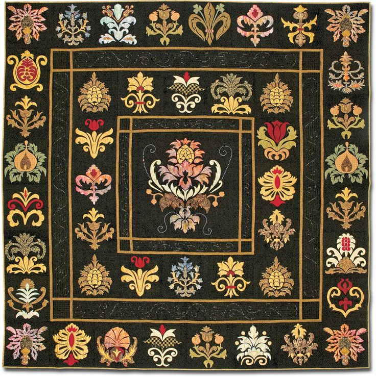 William Morris quilt: Applique Quilts, Quilts Blocks, Google Search, Appliques Artistry, Appliqué Stuff, Appliqué Book, Renaissance Quilts, Good Quilts