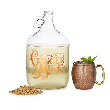Look what I found at UncommonGoods: Ginger Beer Making Kit with Copper Mule Mugs for $115.00