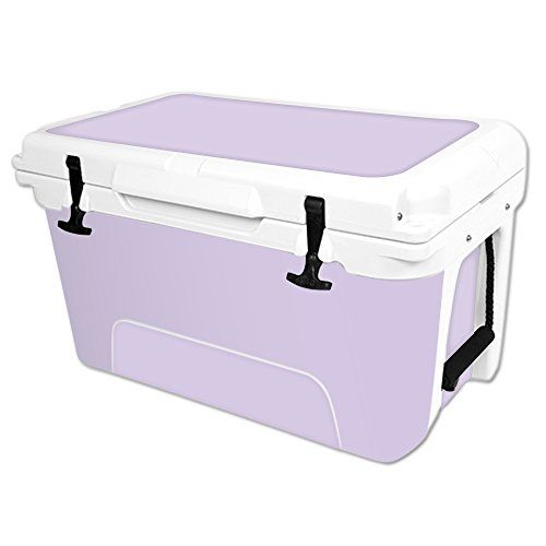 MightySkins Protective Vinyl Skin Decal Wrap for RTIC 45 qt Cooler cover sticker Solid Lilac >>> You can get more details by clicking on the image.(This is an Amazon affiliate link and I receive a commission for the sales)