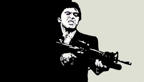 22 best images about scarface on pinterest iphone - Scarface cartoon wallpaper ...