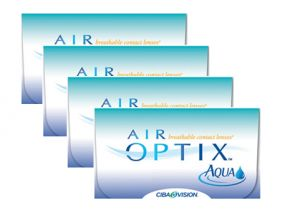 4 x AIR OPTIX™ Aqua 6 Stk