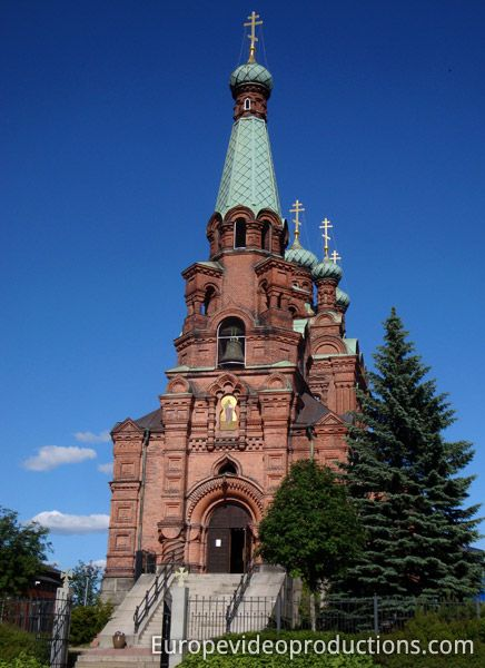 Orthodox church of Tampere in Finland.