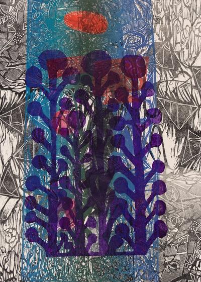 Saxa Arts and Books. Wild Violets