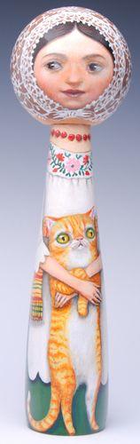 Gato Amarillo by Kristin Elder-Kwan