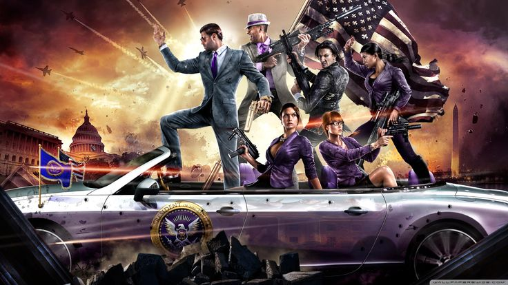 Saints Row IV Video Game HD desktop wallpaper Widescreen High