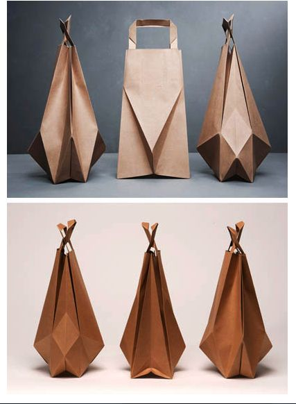 Awesome paperbags! We love these! Made by  Ilvy Jacobs .     Found via famillesummerbelle .